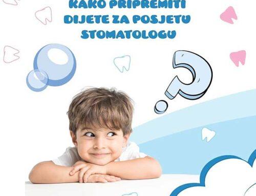 Kako pripremiti dijete za posjetu stomatologu?