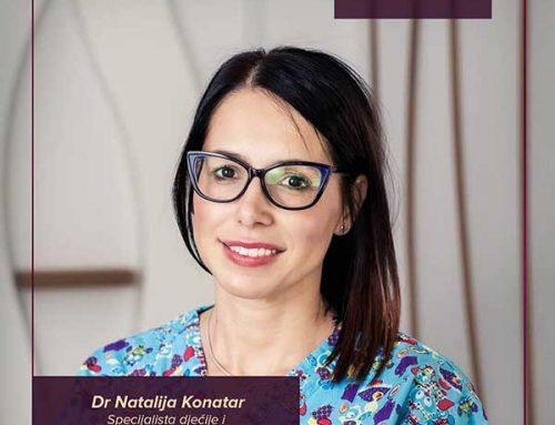 Upoznajte NAŠ TIM – dr Natalija Konatar