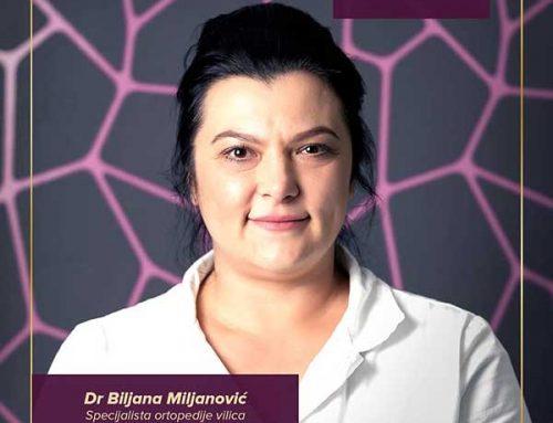 NAŠ TIM – dr Biljana Miljanović
