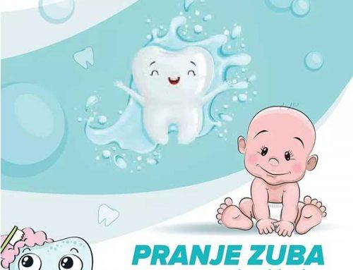 Pranje zubića kod beba