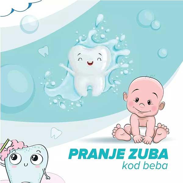 Pranje zuba kod beba