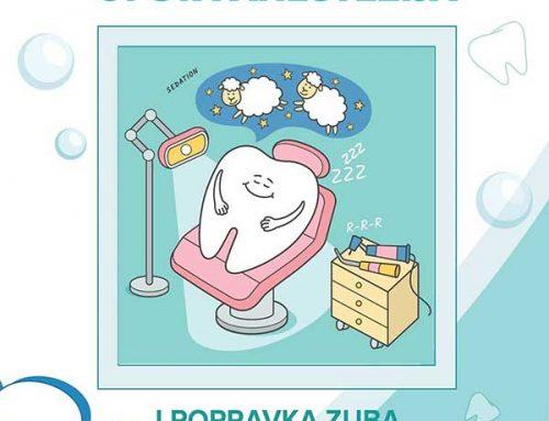 Opšta anestezija i popravka zuba?