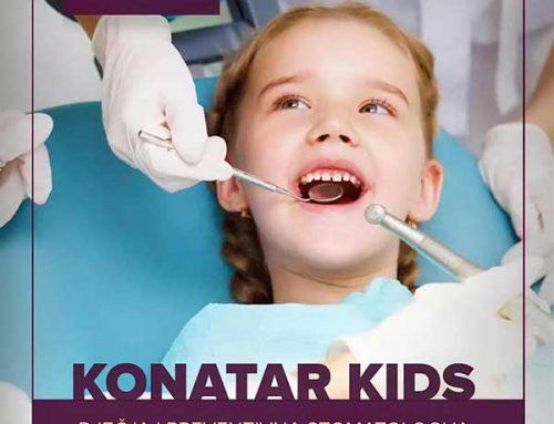 Ordinacija dr Konatar – Dječji kutak KONATAR.KIDS